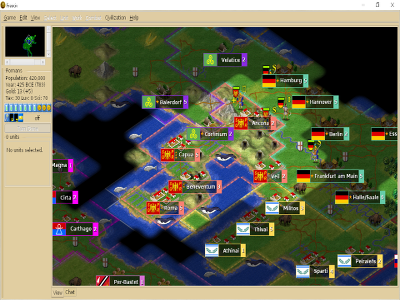 Freeciv org - open source empire-building strategy game